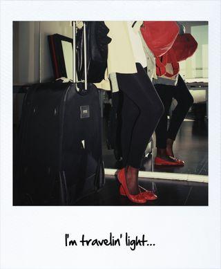 I travel light
