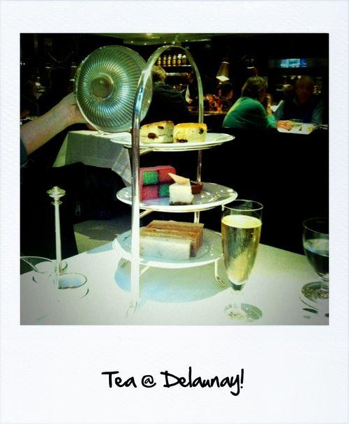 Tea at delaunay