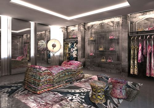 Just cavalli store opening 2